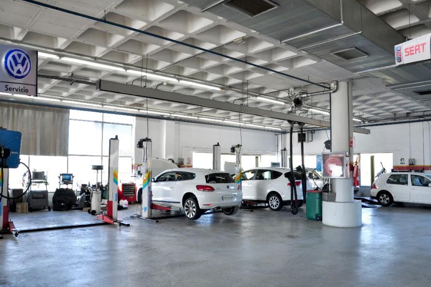Taller mecánico oficial Seat y Volkswagen