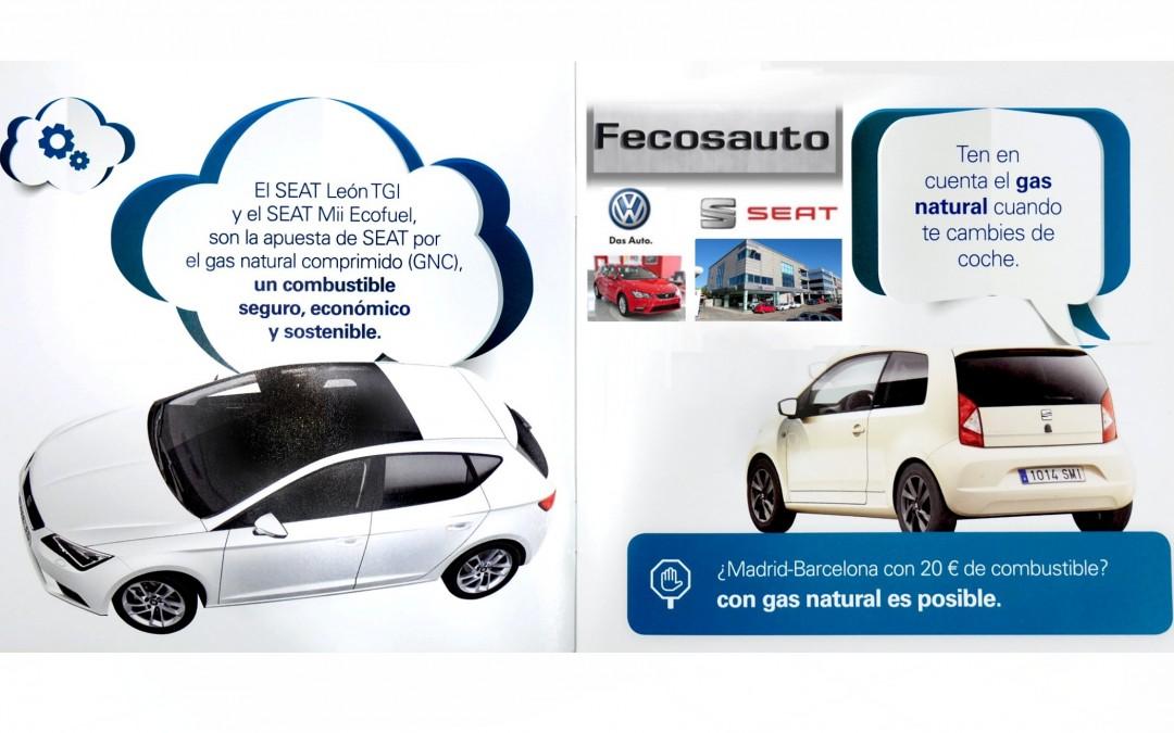 Fecosauto S.L. dando Gas…de GNC, concesionario SEAT y Volkswagen en Mollet del Vallès