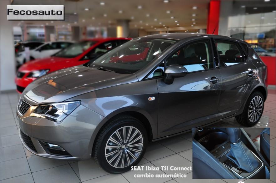 Fecosauto S.L. , concesionario SEAT y Volkswagen en Mollet del Vallès, nuevo SEAT Ibiza TSI cambio automático