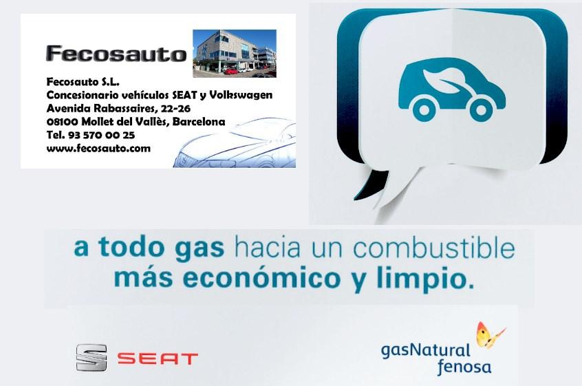 Fecosauto dando Gas … de GNC, a todos los clientes y amigos de Fecosauto S.L., gracias por el interes mostrado por la nueva gama SEAT