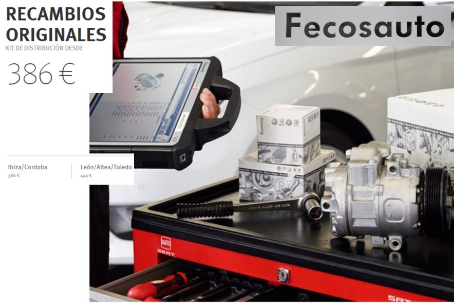 Recambios originales SEAT Kit de distribución oferta en Fecosauto Mollet del vallès , Barcelona