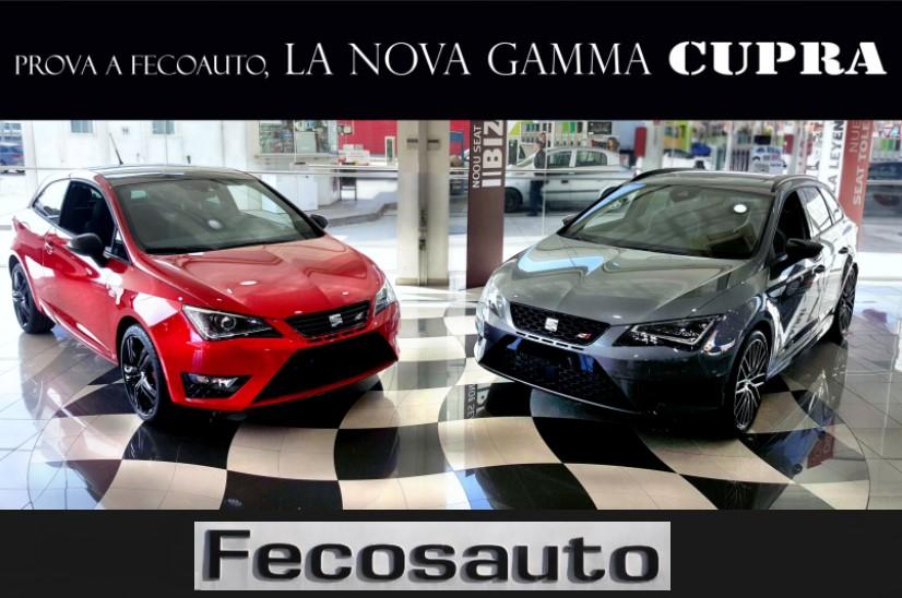 Fecosauto S.L. Mollet del Vallès, Barcelona, nuevo SEAT León Cupra DSG 2016, 19 de marzo 2016