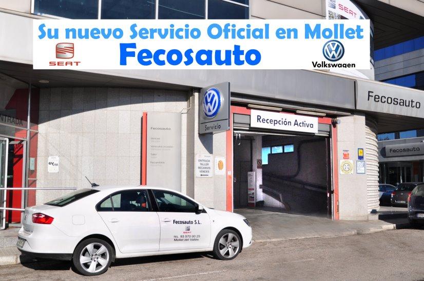Nuevo Servicio Oficial Volkswagen Taller Mecánico en Mollet del Vallès, Barcelona, Fecosauto S.L.