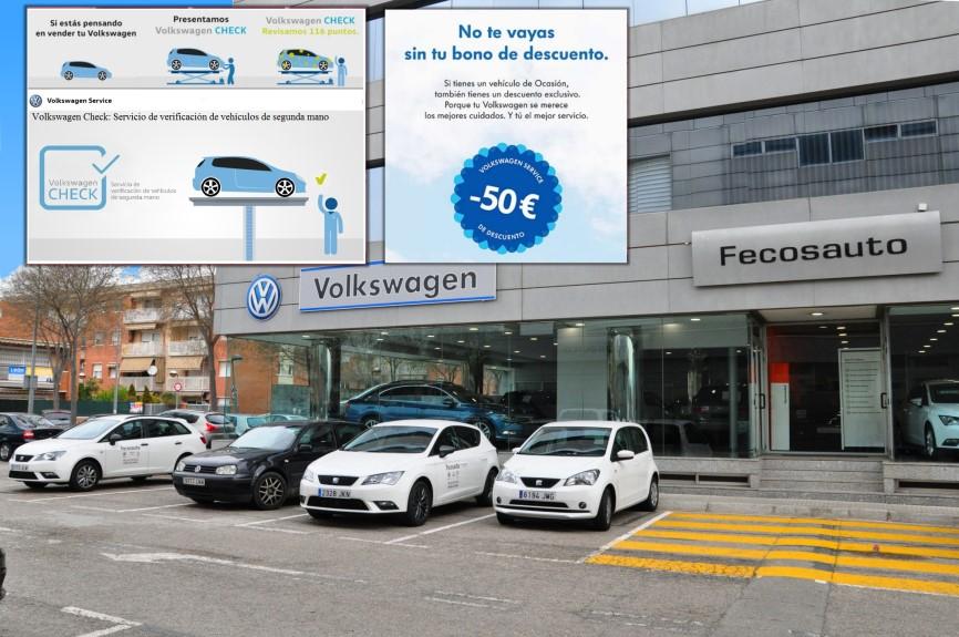 Taller mecánico, Servicio Oficial SEAT y Nuevo Servicio Oficial Volkswagen en Mollet del Vallès, Barcelona, Fecosauto S.L.