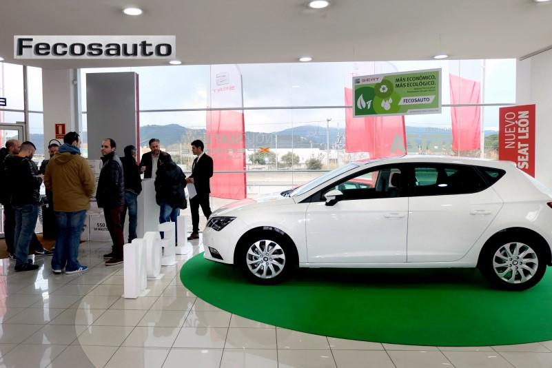 Comprar el coche SEAT León TGI en Mollet del Vallès, Barcelona, a gas natural comprimido en Fecosauto dando Gas … de GNC