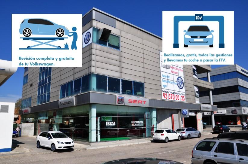 Servicio gratuito Pre-ITV Volkswagen en Fecosauto S.L. Mollet del Vallès, Barcelona