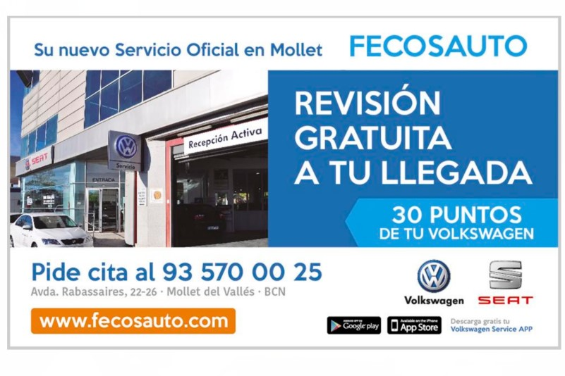 Su nuevo Servicio Oficial en Mollet del Vallès, Barcelona, en Fecosauto, Revisión Gratuita a tu llegada