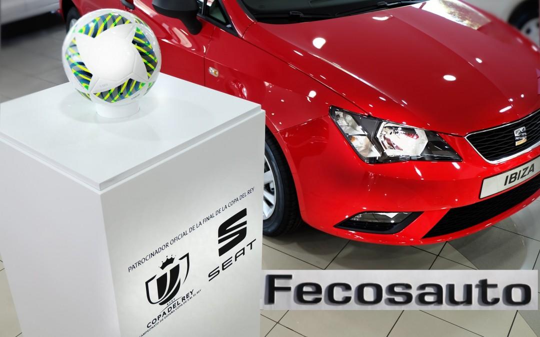 Fecosauto S.L. Concesionario SEAT/Volkswagen en Mollet del Vallès, Barcelona , final Copa del Rey Fútbol