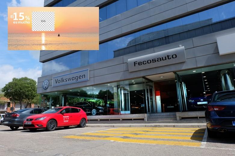 Fecosauto S.L. Concesionario Oficial SEAT/Volkswagen, Mollet del Vallès, Barcelona, te devolvemos el 15%