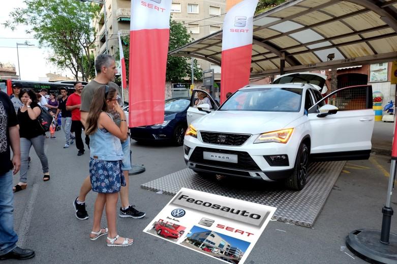 Fecosauto Seat, Concesionario Oficial SEAT/Volkswagen, Mollet del Vallès, Barcelona, nuevo SEAT Ateca, presentado en Mollet és Fira