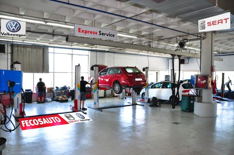 Fecosauto S.L. Mollet del Vallès, Barcelona, Servicio Oficial SEAT, Servicio de carrocería Express