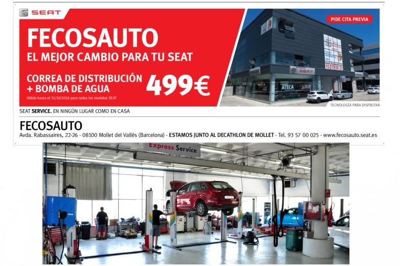 Fecosauto S.L. Mollet del Vallès, Barcelona, Servicio Oficial SEAT/Volkswagen, el mejor cambio para tu SEAT