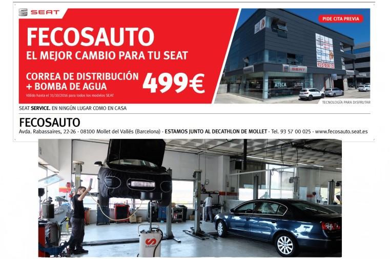 Fecosauto SEAT Mollet del Vallès, Barcelona, Servicio Oficial SEAT/Volkswagen, el mejor cambio para tu SEAT