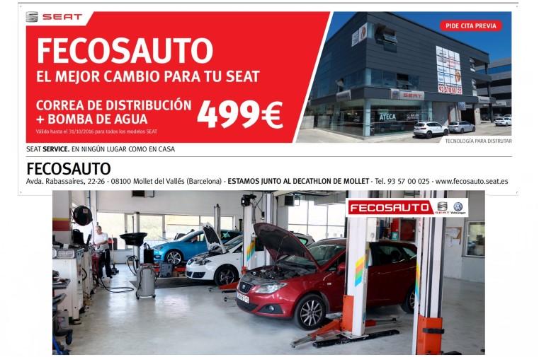 Fecosauto SEAT Mollet del Vallès, Barcelona, Servicio Oficial Taller SEAT/Volkswagen, el mejor cambio para tu SEAT