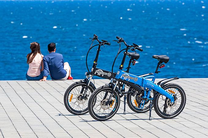 Una buena opción para pedalear sin cansarse son las bicicletas eléctricas