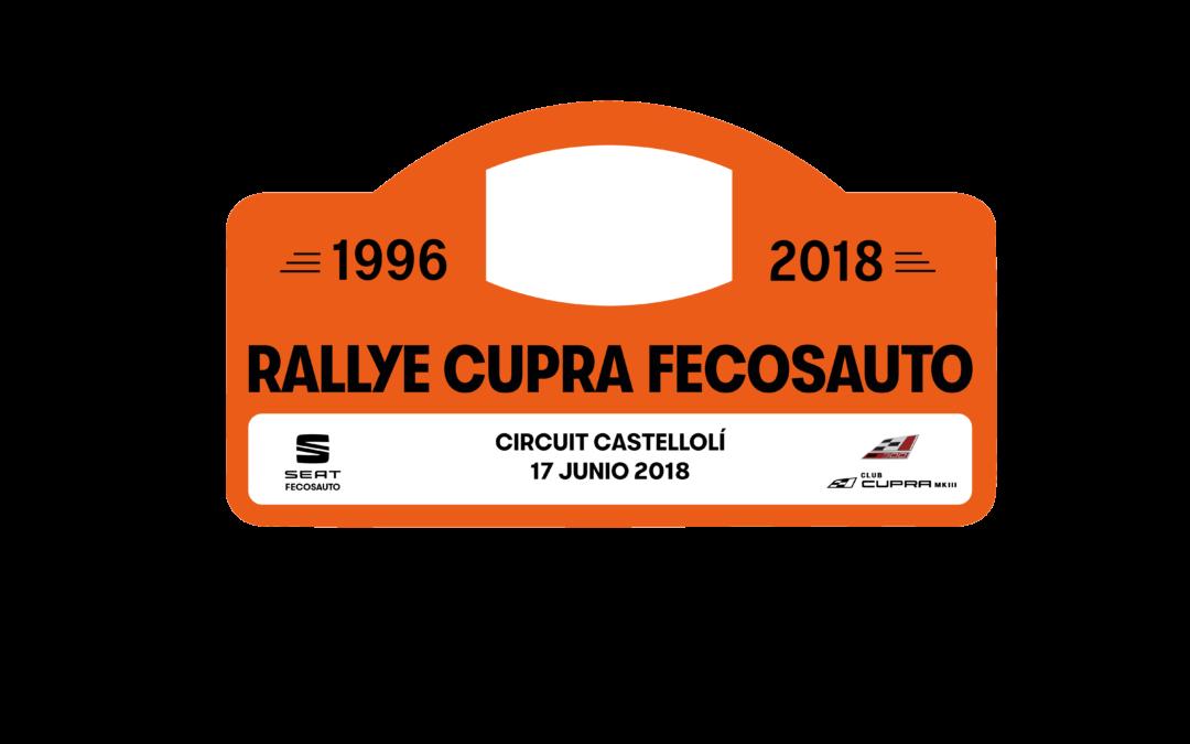 Rallye Fecosauto en el circuit de Castellolí Barcelona