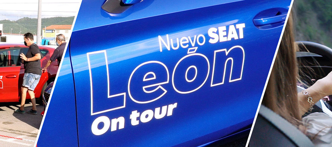 Presentación nuevo modelo SEAT León en Fecosauto Mollet